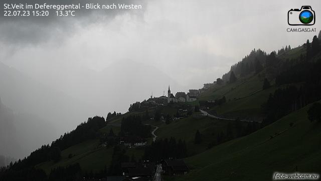 Wetter und Livebild St. Veit im Defereggental, Livecam und Webcam St. Veit (Defereggental) - 1495 Meter Seehöhe